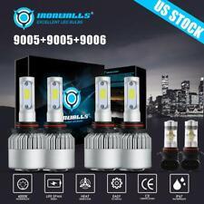 6X COB LED Headlight for Ram 1500 2500 3500 2016-2017 High Low Beam Fog Light