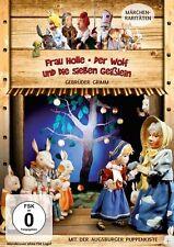 Augsburger Puppenkiste Frau Holle & Der Wolf und die sieben Geißlein Pidax DVD