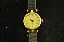VINTAGE LADIES GUCCI QUARTZ WIRSTWATCH ORIGINAL BAND AND BUCKLE KEEPING TIME