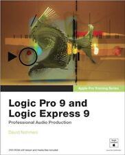 Apple Pro Training Series: Logic Pro 9 and Logic Express 9,David Nahmani