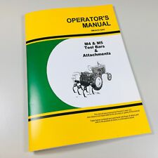 OPERATORS MANUAL FOR JOHN DEERE MA35 MA36 MA37 MA38 LISTER MIDDLEBREAKER