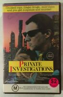 Private Investigations VHS 1987 Thriller Nigel Dick Clayton Rohner Vestron Large