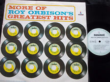 ROY ORBISON More Of Roy Orbison's Greatest Hits LP Early Mono Flipback