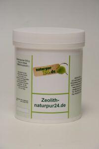 Zeolithamin Gesteinspulver Zeolith 0,5 kg 10-15 µm Heilerde Wohlbefinden