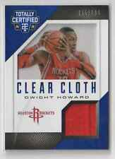 Dwight Howard 2014-15 Totally Certified Clear Cloth Game Used Jersey Rockets/199