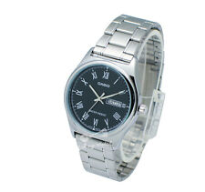 -Casio MTPV006D-1B Men's Metal Fashion Watch Brand New & 100% Authentic