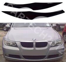 BMW E90, E91 3 Series Headlight  Eyebrows, Eyelids Cover ABS PLASTIC ver2