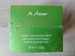 M.Asam Vino Gold Tages- und Nachtpflege Sonderedition 400ml XXL-Tiegel