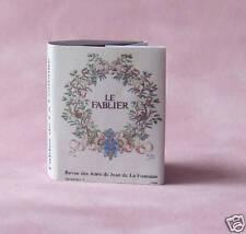 Dollshouse Miniature Book - Fables de la Fontaine