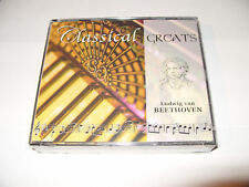 BEETHOVEN-CLASSICAL GREATS-3 cd FATBOX-2002-TIMELIFE- NEW/Seal