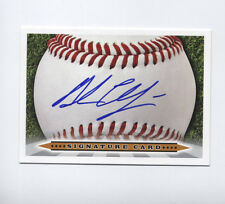 Andrew Chafin AUTO card 2012 Arizona Diamondbacks