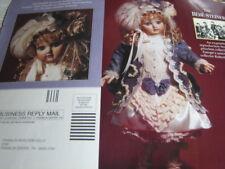 Franklin Heirloom BEBE STEINER MAGAZINE Doll Ad