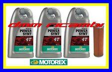 Kit Tagliando KTM SMT 990 09>12 SuperMoto Filtro Olio MOTOREX Power Synt 10W/50
