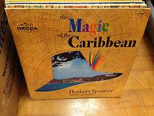 Herbert Spencer The Magic of the Caribbean LP 1960 Decca MONO DieCut Sleeve