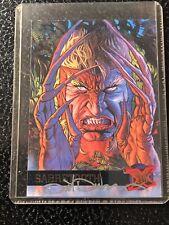 SABRETOOTH #41 - 1995 FLEER ULTRA X-MEN SIGNED DAVE DEVRIES MARVEL COMICS CARD