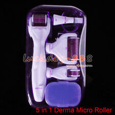 5in1 Derma Roller 0,5+1,5+2.0+1,0 mm aguja Acné cicatrices cabello crecimiento