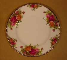 "7 1/4"" Salad Bread & Butter Plates Royal Albert Old Country Roses / England"