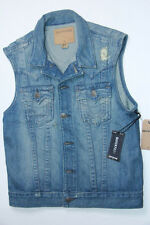 True Religion Denim Denim  Vest Small S  SLim Fit MC088RW7