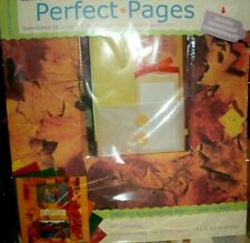 Seasons Spring Winter Summer Fall Colorbok Scrapbook Page Kit 12 x 12