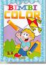 Bimbi color per colorare - Salvadeos - Libro Nuovo in offerta!