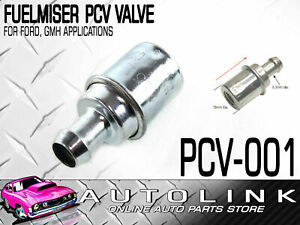 FUELMISER PCV-001 PCV VALVE FOR HOLDEN COMMODORE VL VN VP VR VS VT 5.0L V8