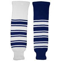 Toronto Maple Leafs Knitted Classic Hockey Socks - Royal White