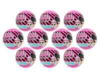 LOL Surprise Globes Capsules Lot of 10 Tattoo Ponies Ring Bag NEW SEALED