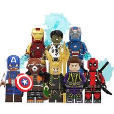 Lego Avengers Marvel DC Minifigure Block Thor Ironman Superman Batman Superhero