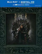 Game of Thrones The Complete First 1st 1 Season (Blu-ray Disc, 2014, 5-Disc) NEW