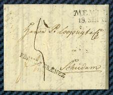 Lettre de RÉVAL_ (Estonie) -> SCHIEDAM (Pays-Bas) confiée à un achemineur - 1819