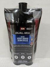 Sem 40377 Dual-Mix Heavy Bodied Black Auto Body Seam Sealer 7 oz.