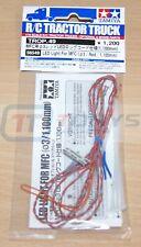 Tamiya 56549 LED Light For MFC (3mm/Red/1100mm) (2 Pcs.) (MFC-01/MFC-03), NIP