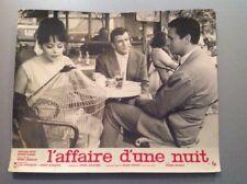 PHOTO D'EXPLOITATION (LOBBY CARD) : L'AFFAIRE D'UNE NUIT (PETIT HANIN VERNEUIL)