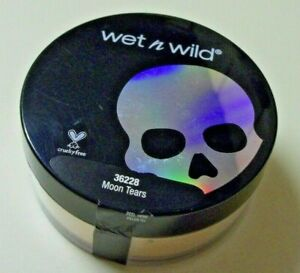 Wet n Wild Loose Highlighting Powder Moon Tears Goth-o-Graphic + BRUSH