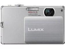 Panasonic LUMIX DMC-FP3 14.1MP Digital Camera - Silver-Includes 16gb Card