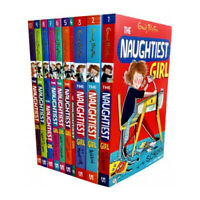 Enid Blyton Naughtiest Girl Well Done 10 Books Collection Set Brand New
