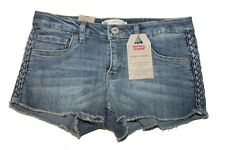 Girls Levi's Shorty Short (414331) Adjustable Waist - Blue  - Size 14 Reg $38