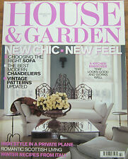 House & Garden February 2005 Romantic Scottish Living