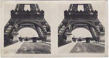 Pont d' iena paris tour eiffel car snapshot photo stereo vintage silver