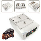 Commercial Electric Chocolate Tempering Machine 10KG Melter Maker 2 Melting Pot