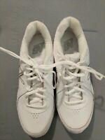 Solid White New Balance 411 mens walking shoes Mens size 7