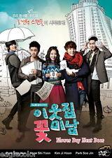 Flower Boy Next Door Korean Drama (3DVDs) Excellent English & Quality - Box Set!