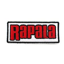 [Patch King] Rapala Fishing Logo Patch Emblem Clothes Cap Badge 75mm