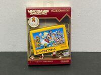 Nintendo MINI GAMEBOY ADVANCE GBA Super Mario Bros 20th Anniversary FAMICOM - JP