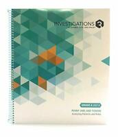 Investigations 3 in Number, Data, and Space Grade 4 Unit 8 Penny J... by Pearson