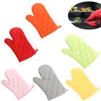 HOT! Oven Gloves Kitchen Cooking Pot Holder Thick Heat Resistant Mitt Mittens