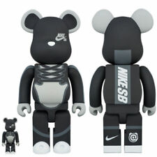 Nike X Medicom BE@RBRICK 100% 400% Toy SEALED RARE LIMITED Dunk SB Bearbrick