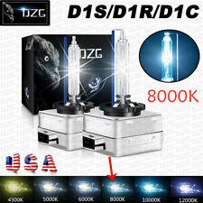 2X D1S 8000K D1R D1C White HID Xenon Headlight Light Bulbs OEM Replacement Lamps