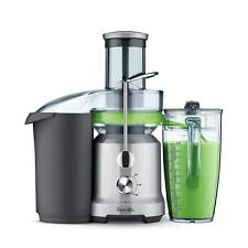 Breville BJE430SILUSC 850W Centrifugal Juicer - Silver