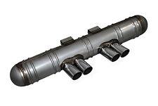 PORSCHE 911 69 - 73 2,0-2,4 Abarth Sistema di scarico 4 tubi con ABE EXHAUST SYSTEM